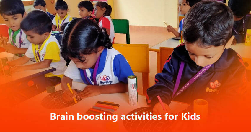 Brain boosting activities for Kids - Best International School in Bangalore