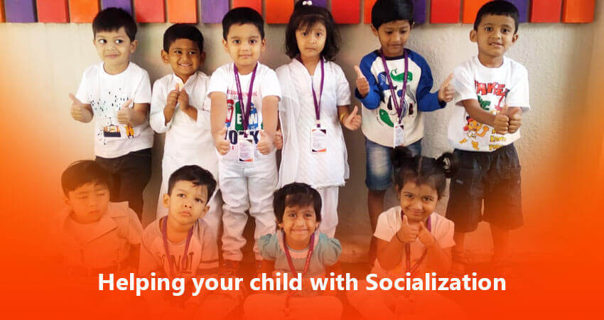 Helping your child with Socialization - Best International School in Bangalore